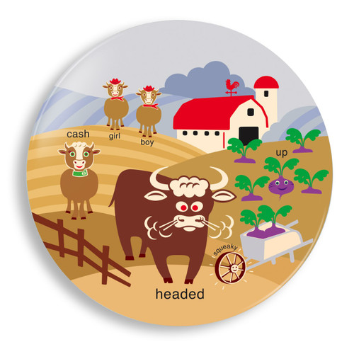 Bull Headed Plate - Jane Jenni