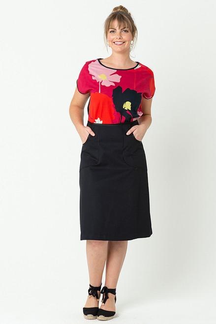 Avril Skirt Long Black