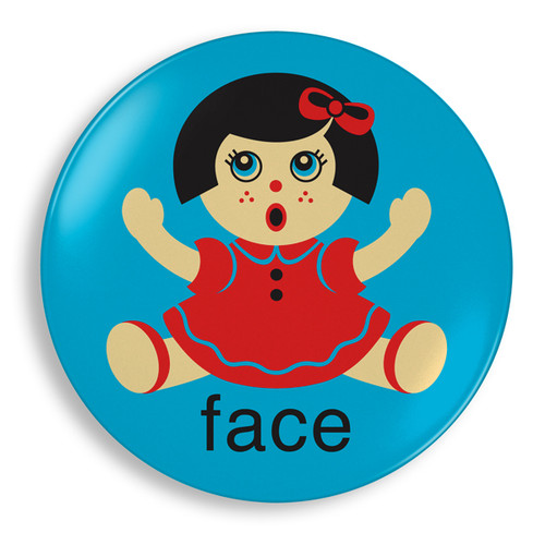 Doll Face Plate - Jane Jenni