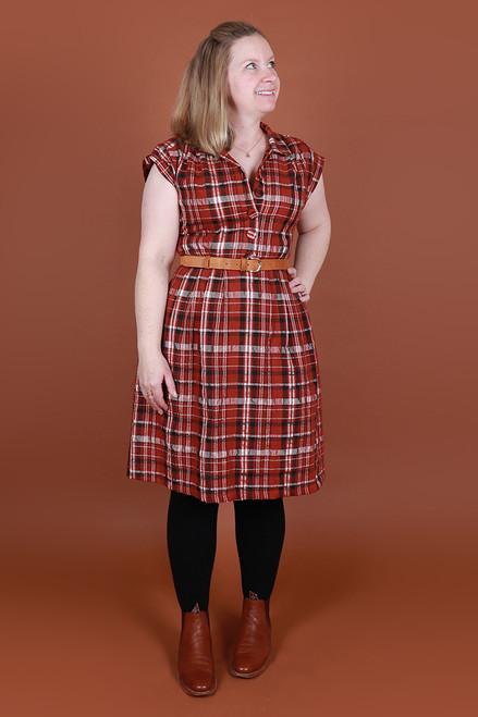 Trixie Dress Wintertide Plaid