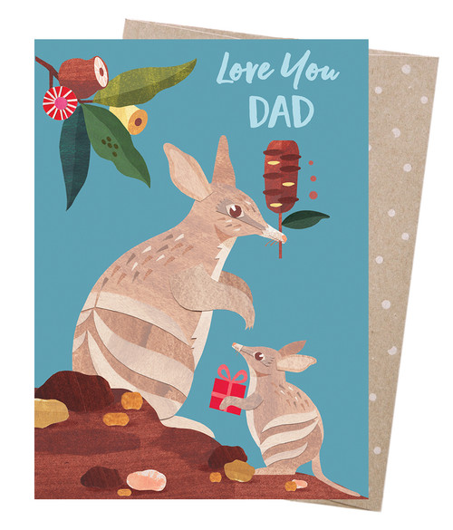 Greeting Card Bandicoot Dad