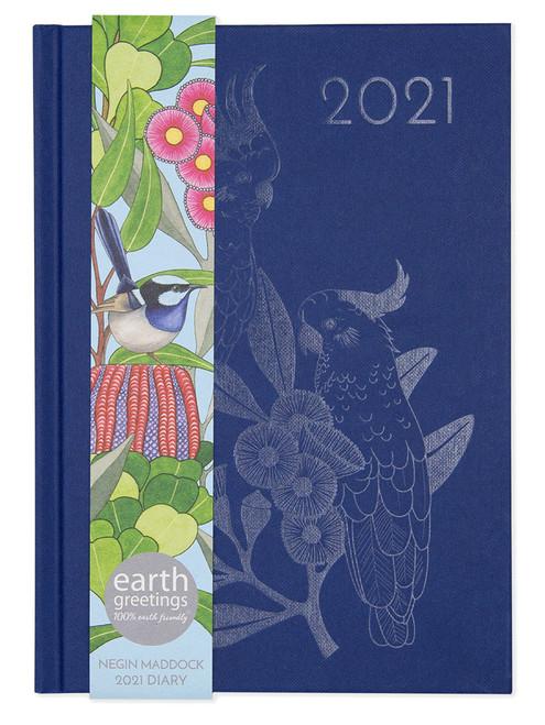 2021 Negin Maddock Diary - Blue Wren