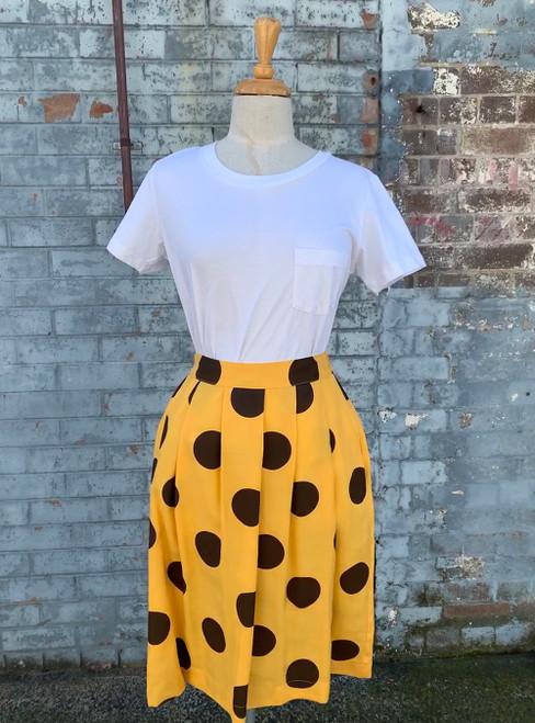 Bridgette skirt Big Dots