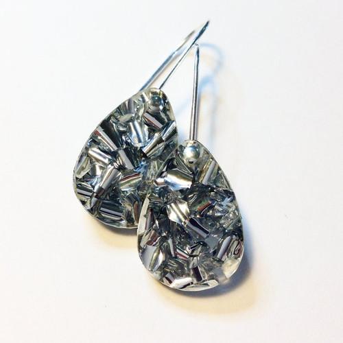 Baby Drop Earrings Silver