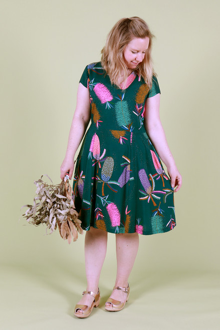 Frenchie Dress Backyard Blooms