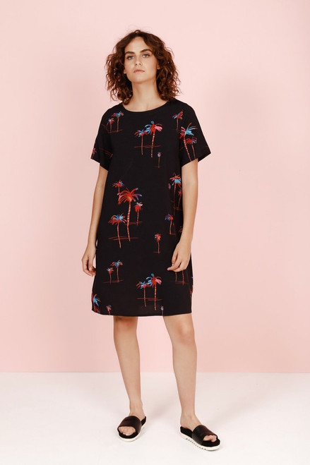 PalmARama Floaty Dress C