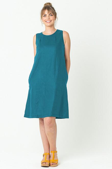 Lauren Shift Dress Turquoise
