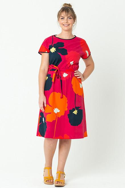 Biba Dress Flor Magenta