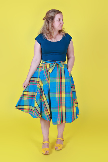 Valentina Skirt Picnic Plaid