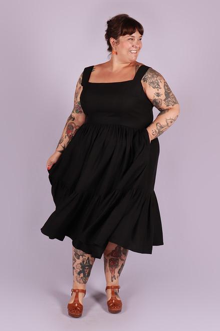 Rayna Dress Back in Black