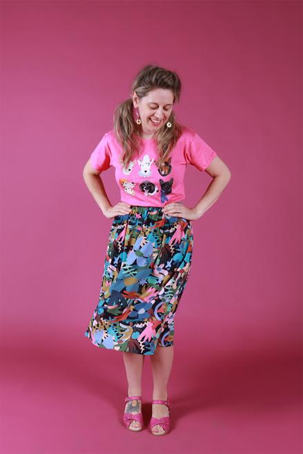 Ella Skirt Garden Tale