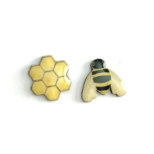 Burtie Bee Studs