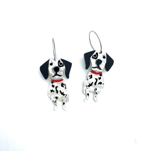 Maxie and Millie Dalmation Dangles