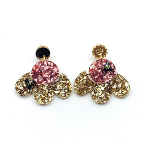 Bellarose and Bentleigh Bee Dangles