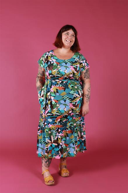 Rayna Dress Jersey Garden Tale