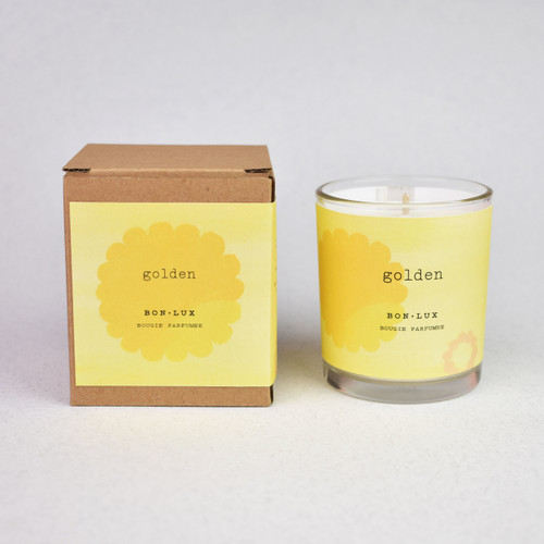 Boxed Votive Candle Golden Breeze