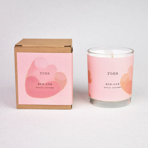 Boxed Votive Candle Rosa