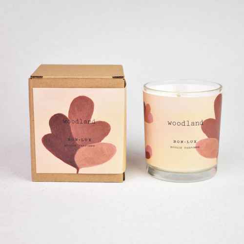 Boxed Votive Candle Woodland