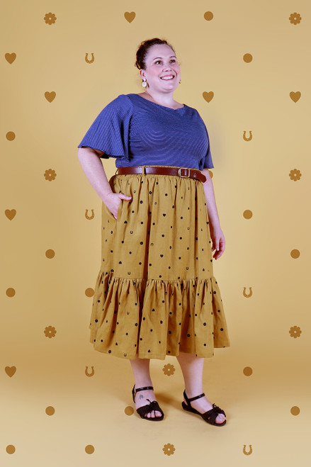 Rayna Skirt Long Lucky Spot