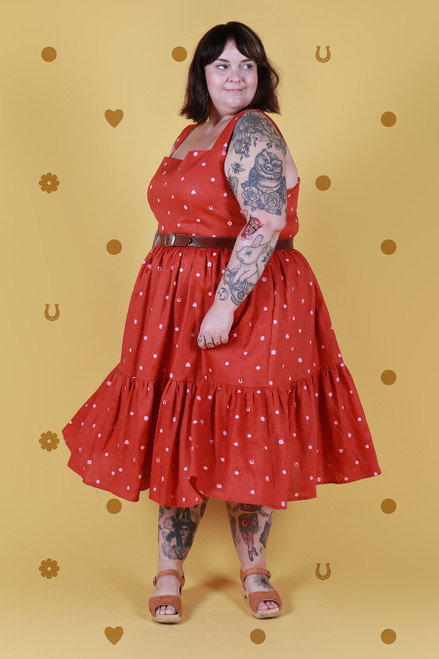 Rayna Dress Lucky Spot