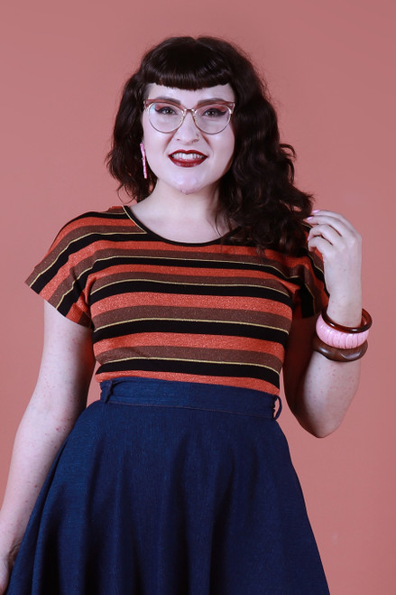 Ripley Reversible T Pumpkin Spice