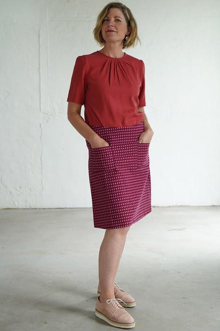 Niki Skirt Short Spots Pink