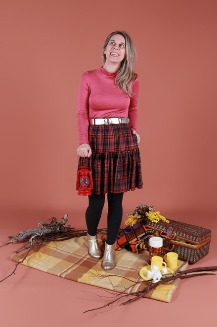 Rayna Skirt Cosy Flannel Short