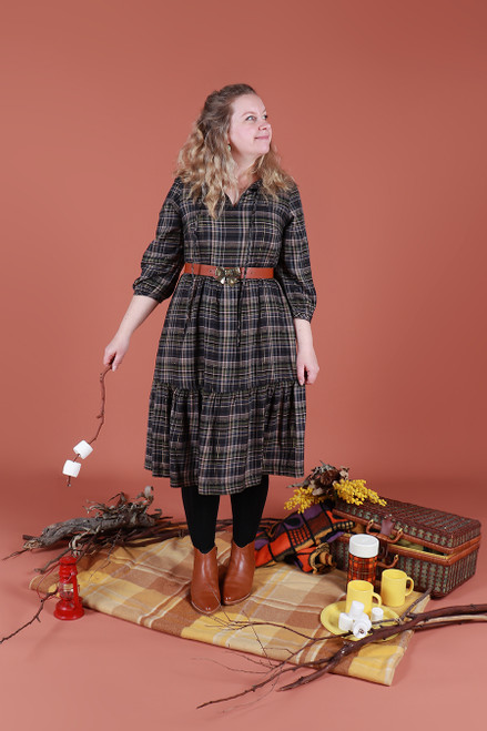 Willow Dress Cosy Flannel