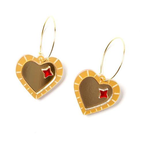 Mary Earrings Gold