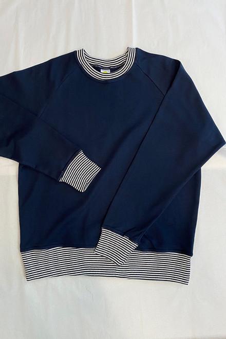 Sweater Top Navy