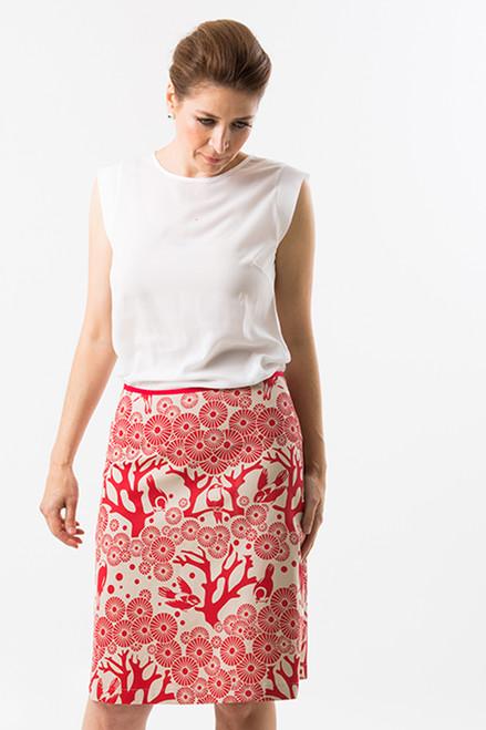 A-Line Skirt Mikko Lipstick Chino