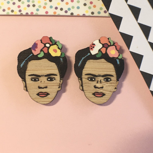 Frida Kahlo Studs
