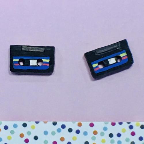 Cassettes Blue Studs