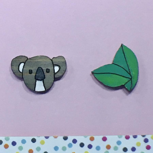 Koala Noms Studs
