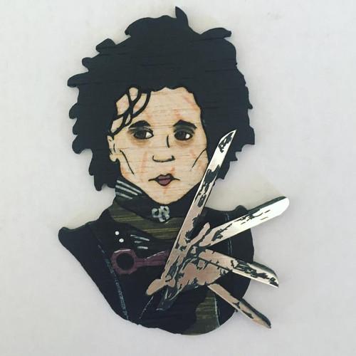 Scissorhands Brooch