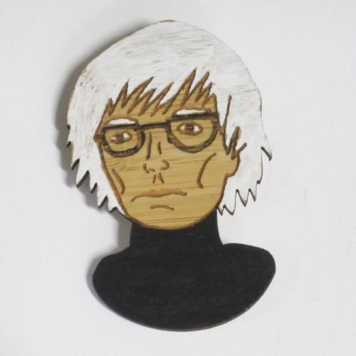 Andy Warhol Brooch