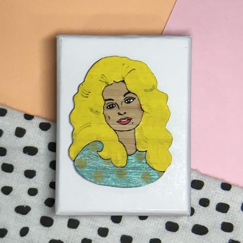 Dolly Parton Brooch