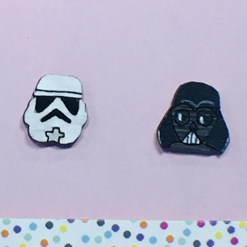 Trooper Vader Studs