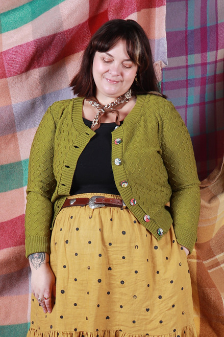 Daisy Cardie Chartreuse