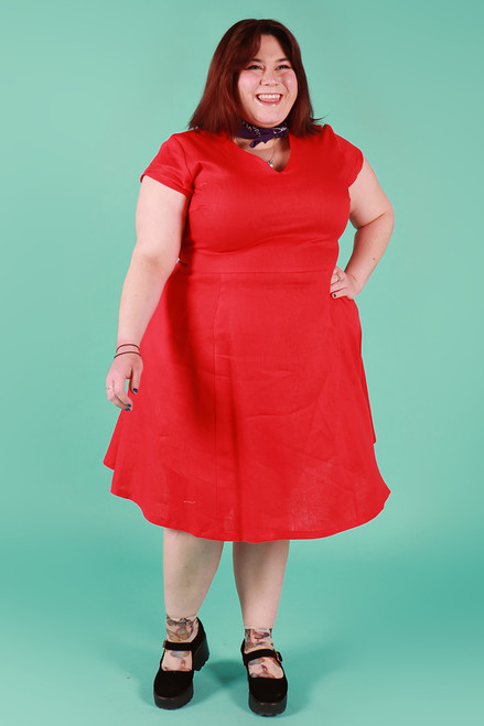 Frenchie Dress Toffee Apple