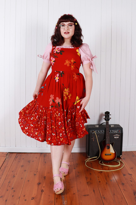 Rayna Dress Spliced Favourite Floral
