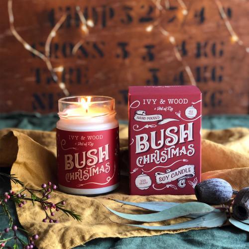 Bush Christmas Candle