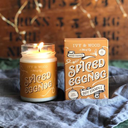Spiced Eggnog Candle