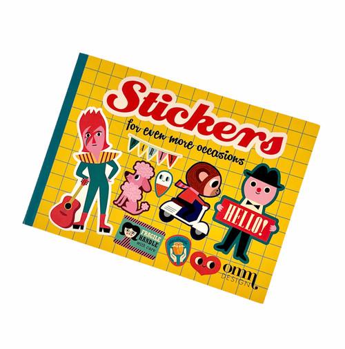 Sticker Book Yellow