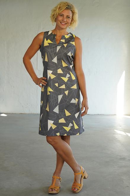 Tunic Dress Teki Yellow