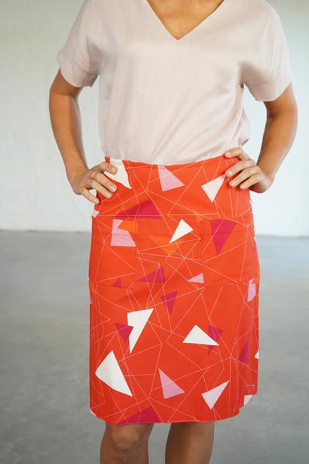 Niki Skirt Long Teki Coral