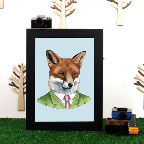 Ryan Berkley Red Fox Framed Print