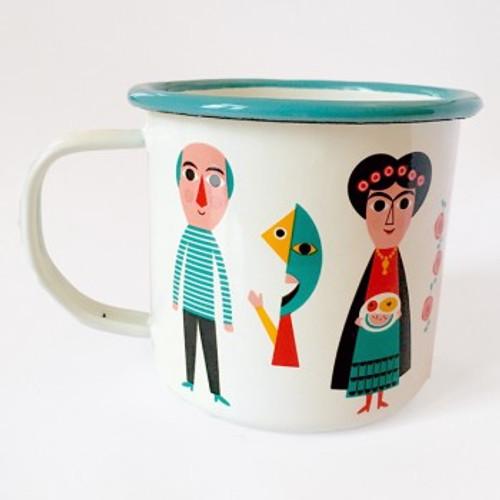Enamel Artists Mug