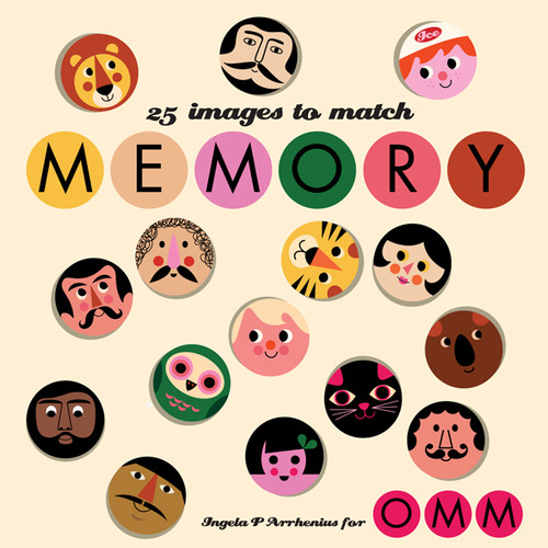Omm Design Memory Game Series 2