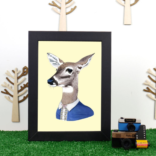Ryan Berkley Doe Framed Print
